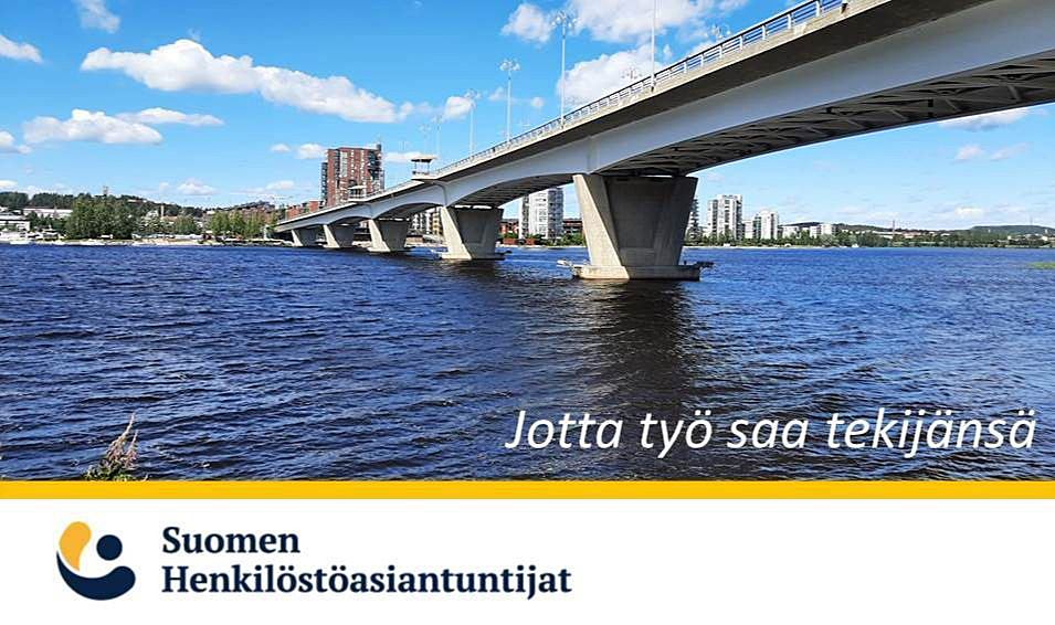 Suomen Henkilöstöasiantuntijat, jotta työ saa tekijänsä!